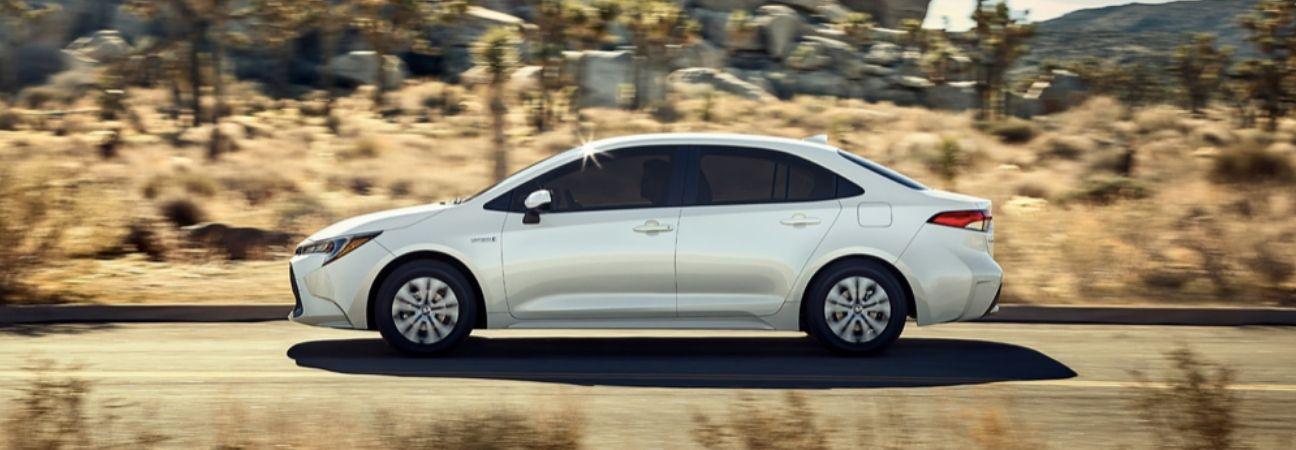2020 Toyota Corolla driving